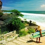 Tourists, holidays, Bali