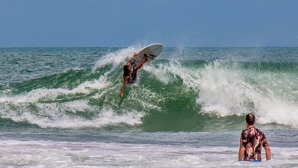 Image 3 Bad Wipe Out day Bali Surf School