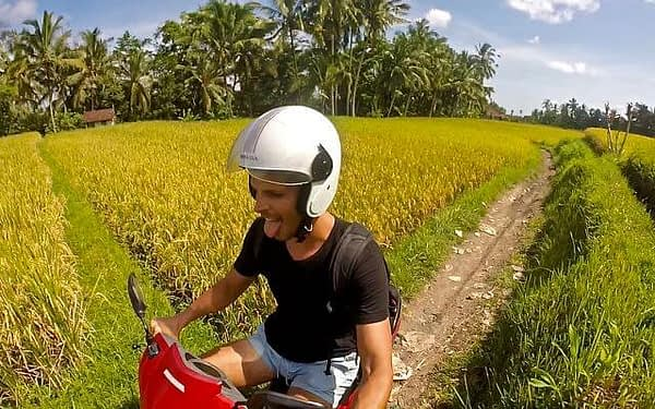 Driving in Bali one